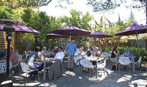 the patio cafe best outdoor restaurant patios in healdsburg the journey