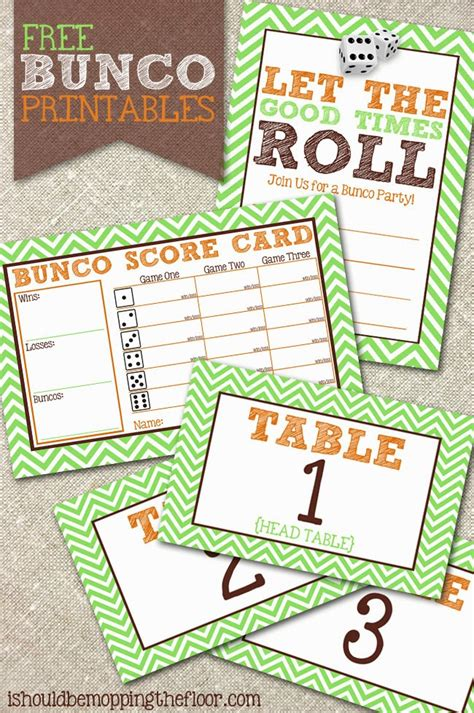 free bunco i should be mopping the floor free bunco printables