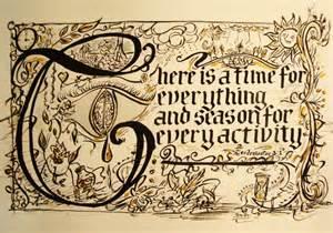 Gothic Calligraphy Alphabet