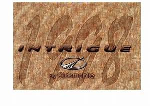 1998 Oldsmobile Intrigue Owner U0026 39 S Manual