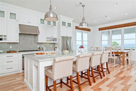white beach kitchen soft  serene  detail interiors