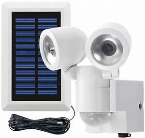 Led Bilder Xxl : solar led duo ws led solarleuchte strahler mit bewegungsmelder wei ip44 bei reichelt ~ Whattoseeinmadrid.com Haus und Dekorationen