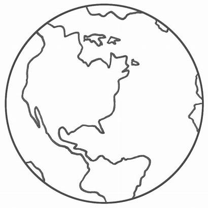 Earth Coloring Planet Pages Printable Sheets Space