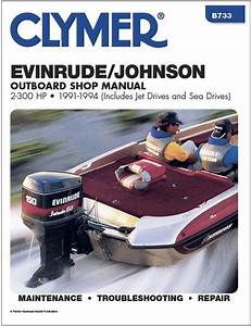 4 Hp Deluxe Clymer Evinrude Johnson Outboard Motor Service