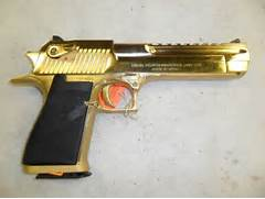 44 mag 24k gold - Picture Real Gold Guns  Real Golden Guns