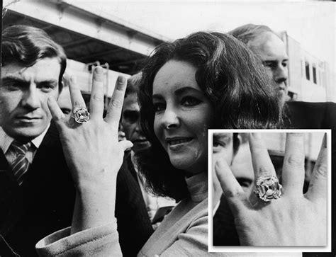 elizabeth taylor wedding rings engagement famous rings sabion ro