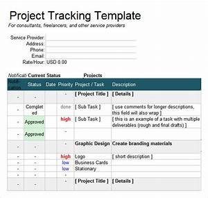 Gantt Chart To Track Multiple Projects 7 Excel Tracking Samples Sample Templates