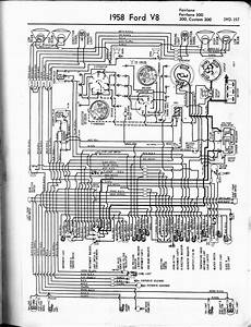 1955 Ford Customline Wiring Diagram