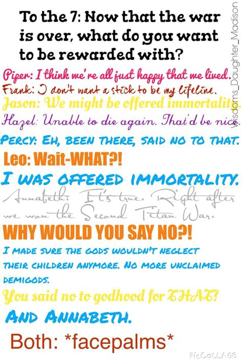 my own ask the seven ask the seven percy jackson percy jackson fandom and
