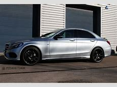 Mercedes C220 CDi W205 on BBS CHR in satin black Flickr