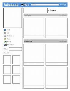 best photos of blank facebook template worksheet blank With fill in facebook template