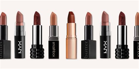 13 best brown lipsticks for fall 2018 light and dark brown lipstick