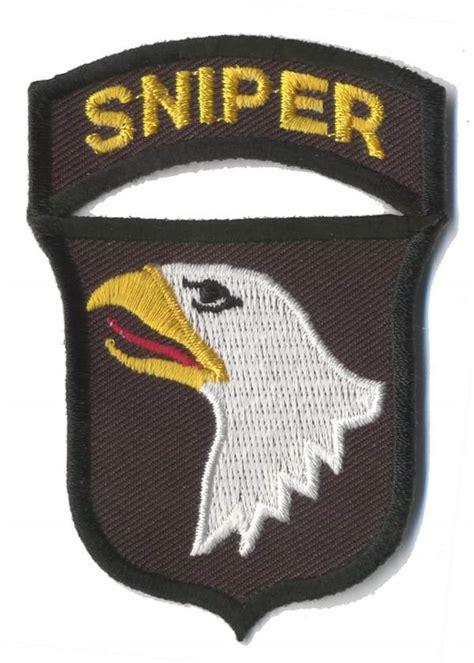 st division sniper badge