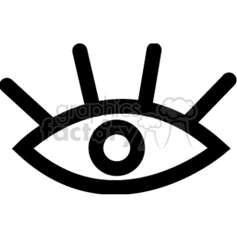 simple eye clipart black and white royalty free black and white eye image 166324 vector clip