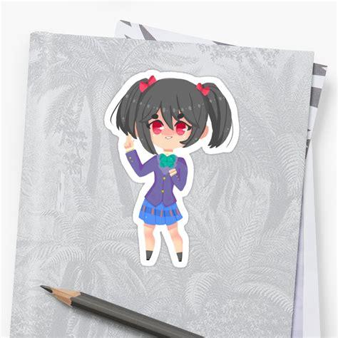 nico yazawa sticker stickers by pyurim redbubble