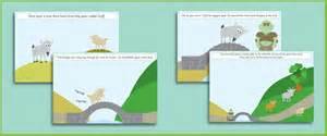 three billy goats gruff story printable billy goats gruff story visuals free early years primary teaching resources eyfs ks1