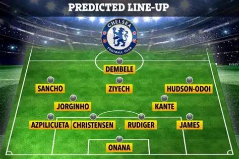 4 Ways Chelsea could lineup next season that will surprise ...