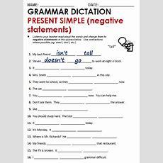 Present Simple  All Things Grammar