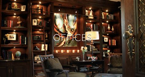 Offices At Home  San Diego Interior Designers