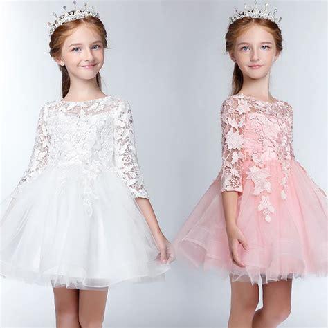 robe de demoiselle d honneur fille robe blanche de c 233 r 233 monie fille demoiselle d honneur sweet