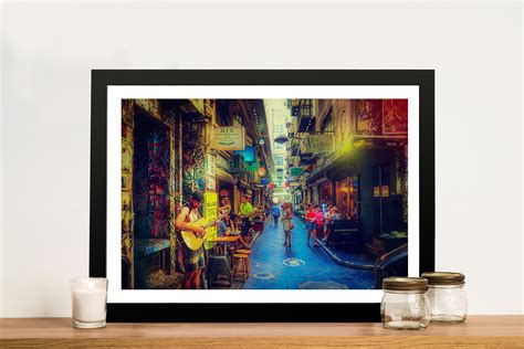 wall decor melbourne buy degraves canvas framed print beaconsfield
