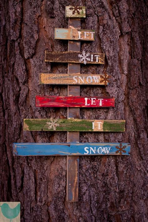cool diy pallet art projects shelterness