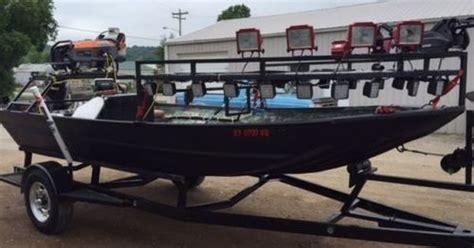 Aluminum Bowfishing Boats by Alweld 1860 Aluminum Bowfishing Boat Duck Gator Commercial