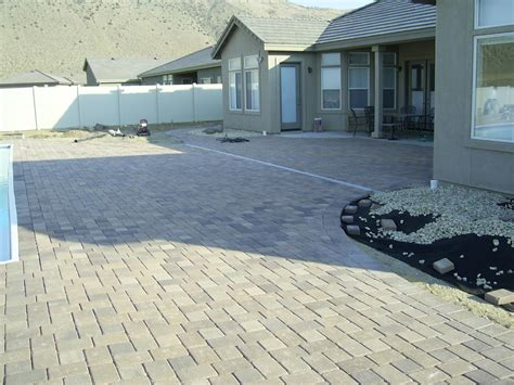 brick paver installation steve snedeker s landscaping