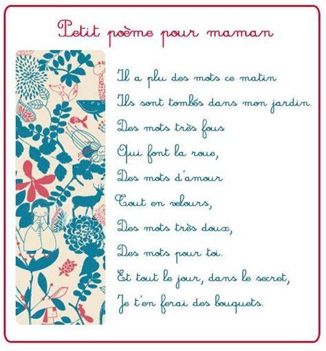 poeme cuisine les 25 meilleures idées concernant poeme pour maman sur