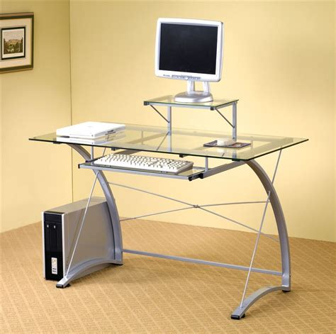 glass top office desk with glass desk glass top desks for but simple