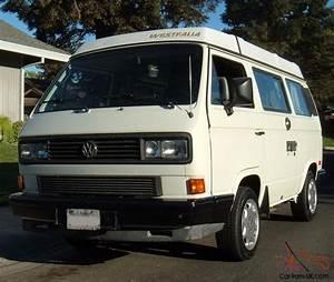 Van Volkswagen California : 1988 vw westfalia camper california rust free van no reserve ~ Gottalentnigeria.com Avis de Voitures