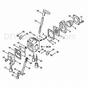 Stihl Hs 86 R Petrol Hedgetrimmer  Hs86r  Parts Diagram