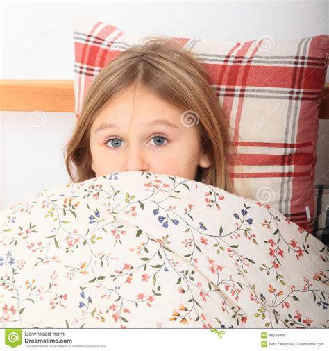 Girl Going To Sleep Stock Photo Image Of Bedroom