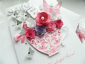 handmade, personalised, luxury, mothers, day, birthday, card, 50