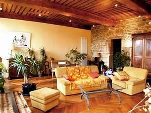 deco interieur maison pierre With decoration interieur en pierre