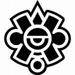 Mayan Symbol Mexico Icons Icon