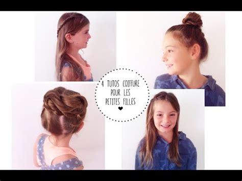 tutos de coiffures rapides pour les petites filles pour