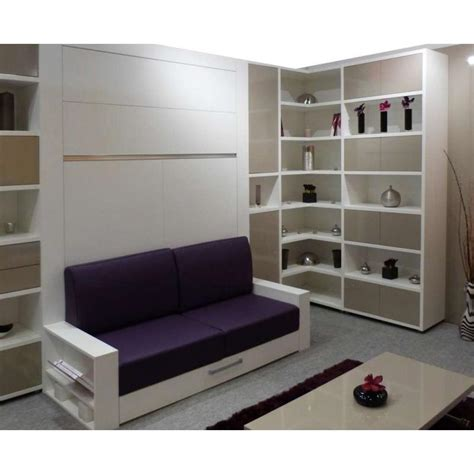 armoire lit canapé escamotable armoire lit escamotable avec canapé intégré au meilleur