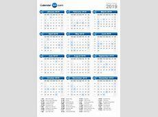 2019 Calendar 2018 calendar printable