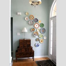 Diy Wall Art From Plates  A Pop Of Pretty Blog (canadian