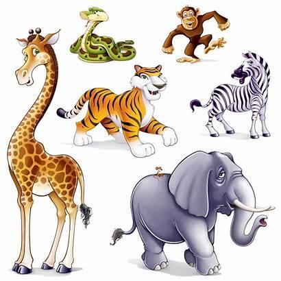Jungle Animals Party Clipart Animal Safari Wild