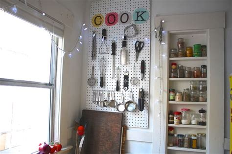 kitchen pegboard ideas kitchen pegboard organizer bigdiyideas com
