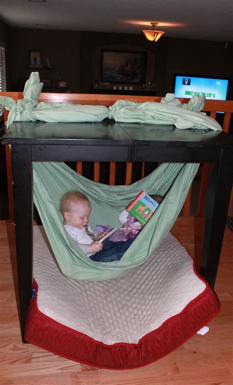 How To Make A Hammock With A Sheet by How To Make A Baby Hammock The Table With King Sized