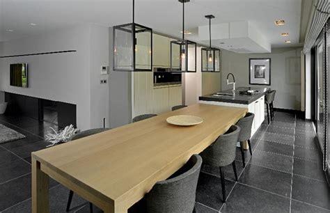 Keuken Met Kookeiland En Tafel by 14 Voorbeelden Een Kookeiland Met Tafel