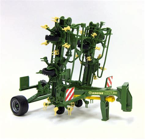 bruder farm 1 16th krone trailed rotary hay tedder by bruder toy toys