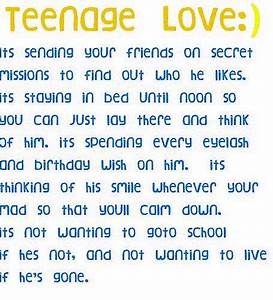Mind of a teenage girl | Adorable Teen Crushes Quotes ...