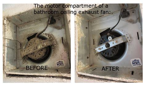 Bathroom Exhaust Fan Lint Is A Fire Hazard Mini Mops