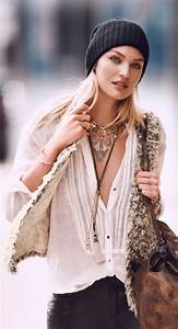 8bedfa2fb9 Boho Style Winter. 25 cute winter hairstyles for college girls for ...