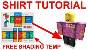 How To Make Roblox Clothing 2019  Shading Template