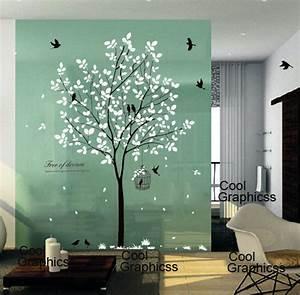 Tree wall decal nursery sticker office by